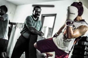 Muay Thai classes in Delhi